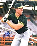 Mark Mcgwire Signed 8x10 Photo Mint Oakland Athletics A's PSA/DNA Signed - Authentic MLB Autograph