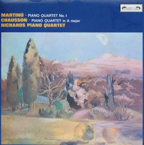 Martinu: Piano Quartet No. 1 / Chausson: Piano Quartet in A Major