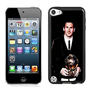 Lovely And Durable Designed Case For iPod Touch 5 5th With Soccer Player Lionel Messi 26 Phone Case