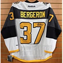 Patrice Bergeron Boston Bruins Signed Autographed 2016 NHL All-Star Jersey