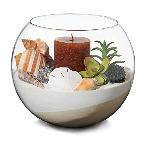 Libbey Bubble Ball 12-piece, 4-inch Footed Glass Bowl Set