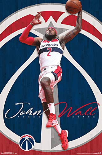 Trends International Washington Wizards-John Wall Poster, 22.375