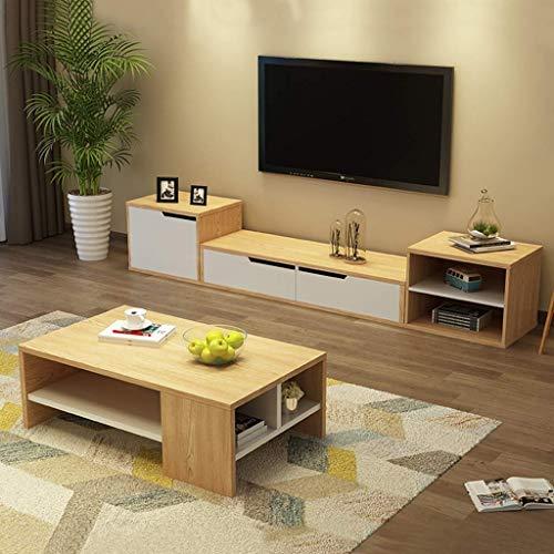 HOME Mesa de Comedor/Mesa de Centro/Muebles de Sala de Estar Simple Almacenamiento de 2 Pisos Mesa de Comedor de Madera