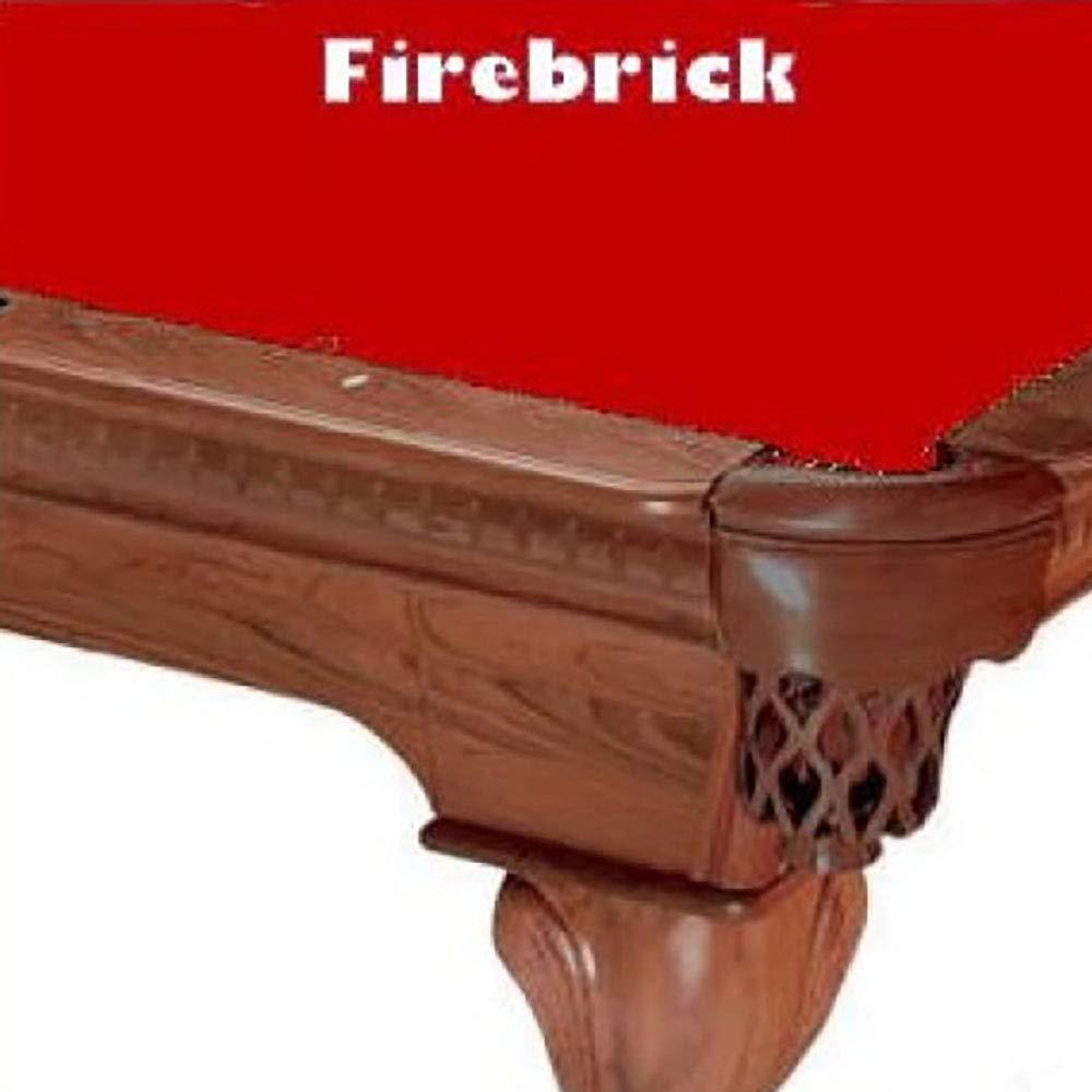 Prolineクラシック303ビリヤードPool Table Clothフェルト B00D37NA5Y 7 ft. ft.|Firebrick Firebrick Firebrick 7 7 ft., 家具インテリア ちくご家:49373e66 --- m2cweb.com