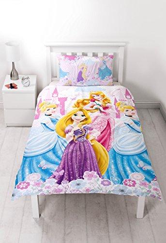 Parure de lit princesses disney housse de couette lit 1 - Housse de couette princesse 2 personnes ...