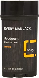 product image for Every Man Jack Deodorant 3 Ounce Citrus (Aluminum-Free) (3 Pack)