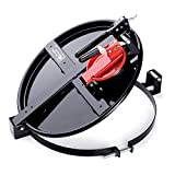 "New Pig Vapor-Control Latching Drum Lid, For 30 Gallon Steel Drums, Bolt-Ring, Versatile Locking Lid, 22"" L x 19"" W x 7"" H, Red, DRM1034-RD"