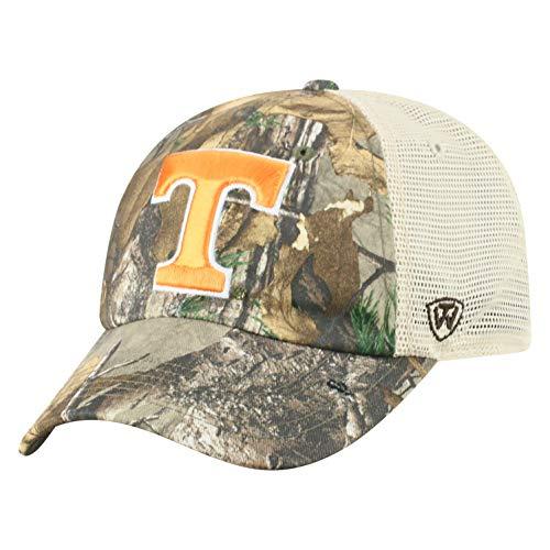 NCAA Tennessee Volunteers Men's Camo Stock Adjustable Mesh Icon Hat, Real Tree
