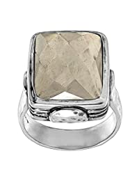 Silpada 'Amarillo' Pyrite and Sterling Silver Ring