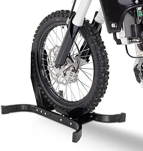 Black Paddock Front Wheel Chock Motorbike Rocker Universal FLHR//I ,Custom FLHR-ANV ,Classic ,Anniversary 110 FLHRC//I ConStands Easy Plus-Motorcycle Stand for Harley Davidson Road King FLHRSI