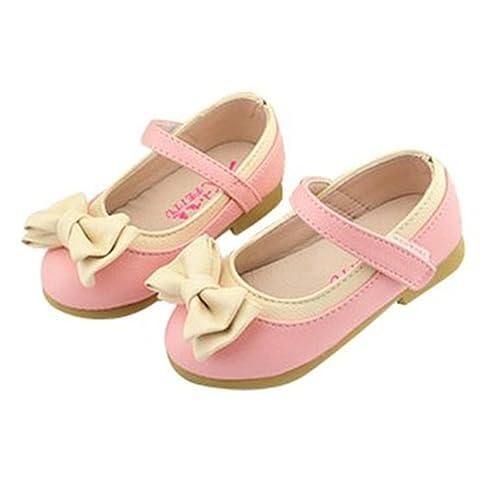 Mopide - Mocasines para niña, color rosa, talla M: Amazon.es: Zapatos y complementos