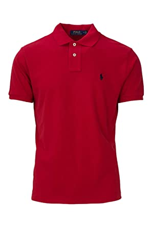 149cd7fe6ad2 Image Unavailable. Image not available for. Color  Ralph Lauren Mens Polo  Custom Slim Fit ...