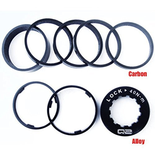 Q2 Carbon Single Speed Conversion Spacer Kit w/Lockring