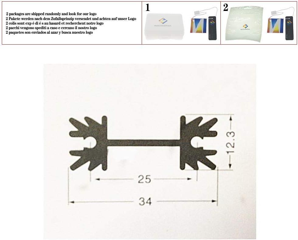 10pcs Transistor heatsink//TO-220 Heat Sink//IC Aluminum Heat Sink//audion Heat Sink 3412.3-38Heatsink