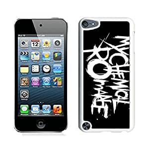 Popular And Unique Custom Designed Case For iPod Touch 5 With My Chemical Romance Danger Days Logo White Phone Case