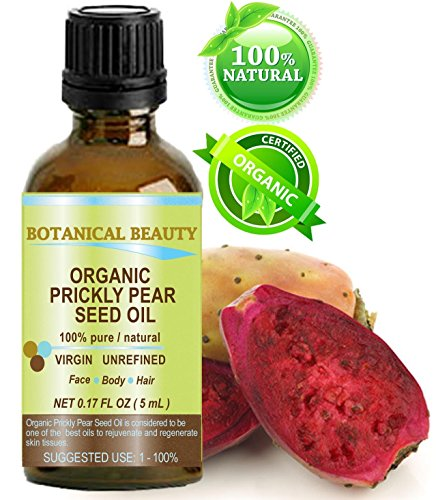PRICKLY PEAR CACTUS SEED OIL ORGANIC. 100% Pure / Natural /