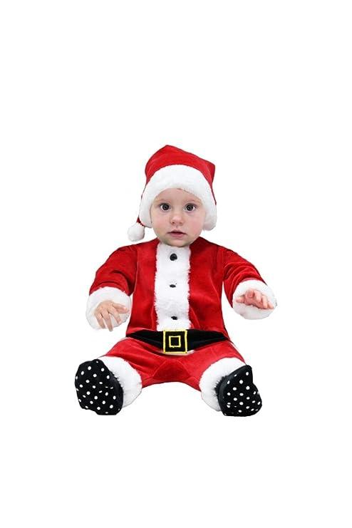 tutina ciniglia babbo natale neonato con cappello (62-68 cm 3-6 mesi ... 13237802c11