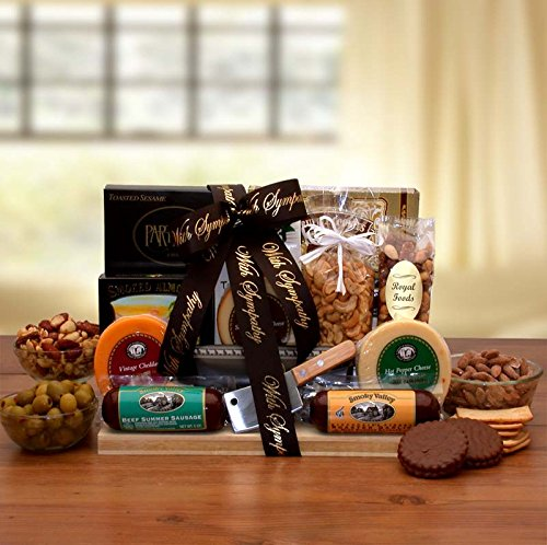 Bereavement Gift With Our Deepest Sympathy Gourmet Gift
