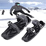 Fanhua Skis Shoes Mini Ski Skates for Snow - Skis