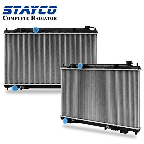 2004 Nissan Altima Radiator - Complete Radiator Replacement for Nissan 2002 2003 2004 2005 2006 Altima 2.5L