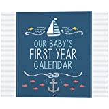 Carter's Blue Nautical First Year Calendar for Baby...