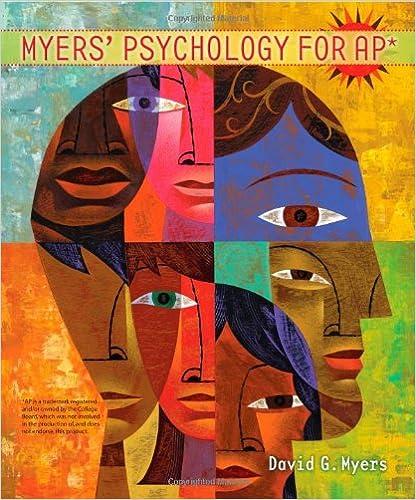 Amazon Com Myers Psychology For Ap 9781429244367 David G
