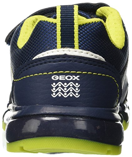 lime navy C0749 J Boy Zapatillas Android Geox A Para Niños HT787wq