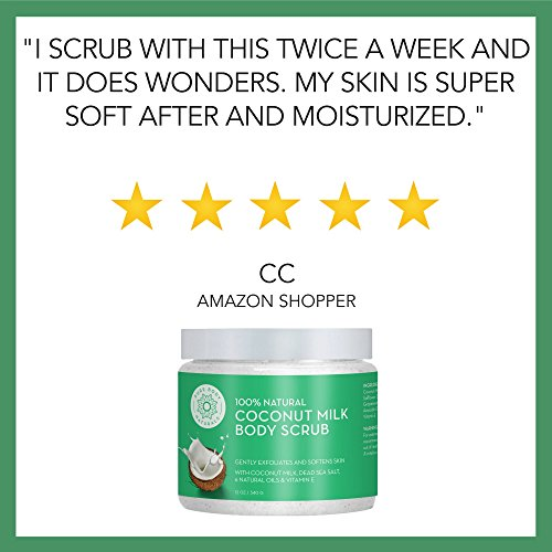 The 8 best body scrubs with coconut oil