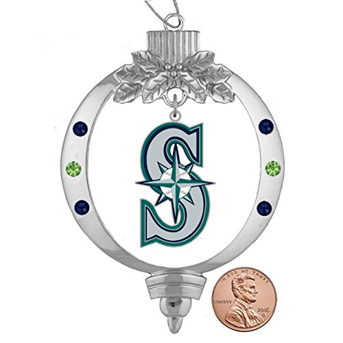 (Final Touch Gifts Seattle Mariners Christmas Ornament)