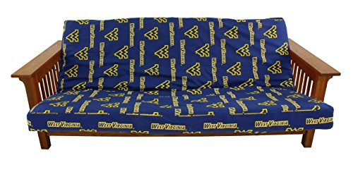 College Covers West Virginia Mountaineers Futon Cover, Full