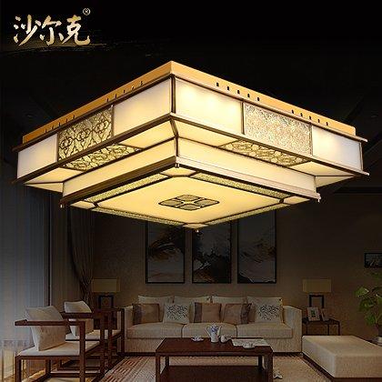 BLYC- Neues klassisches Chinesisch Kupfer Lampe Schlafzimmer Gang Lichter Studie LED Beleuchtung Deckenleuchten Lampe 510 * 510 * 220 mm Löten