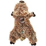 Ethical 5710 Skinneeez Australian Wombat Stuffing-Less Dog Toy, 11-Inch