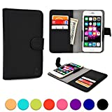 BlackBerry Z3 / Z30 / Leap phone case, COOPER SLIDER Mobile Cell Phone Wallet Protective Case Cover Casing with Open Camera & Credit Card Holder for BlackBerry Z3 / Z30 / Leap (Black)