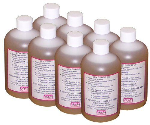 SEM High Viscosity Shredder Oil