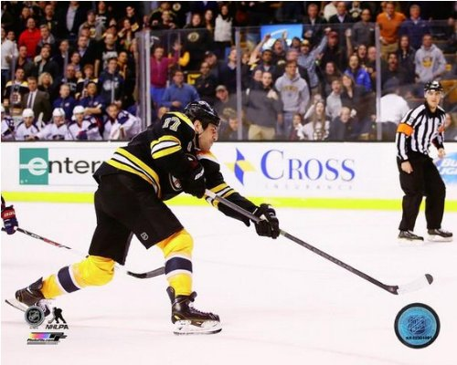 Milan Lucic Boston Bruins 2013-2014 NHL Action Photo #4 (Size: 8