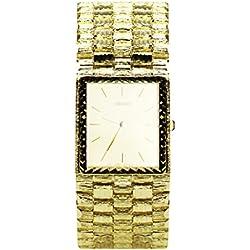 14k Yellow Gold Men's Nugget Watch