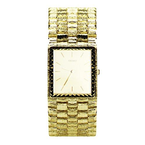14k Yellow Gold Men's Nugget Watch (Yellow)