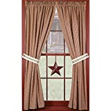 Berry Vine 63″ Curtain Panels