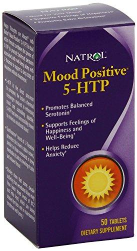 Natrol 5-HTP Mood Positive Tablets, 50-Count , Pack of 4 Natrol-ljr8 For Sale