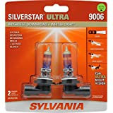 SYLVANIA 9006 SilverStar Ultra High Performance Halogen Headlight Bulb, (Pack of 2)