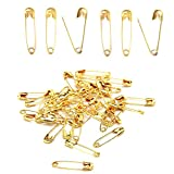 BESTCYC 1000pcs 20mm(0.8″)Mini Metal Safety Pins Clothing Trimming Fastener Tool Clip Buttons