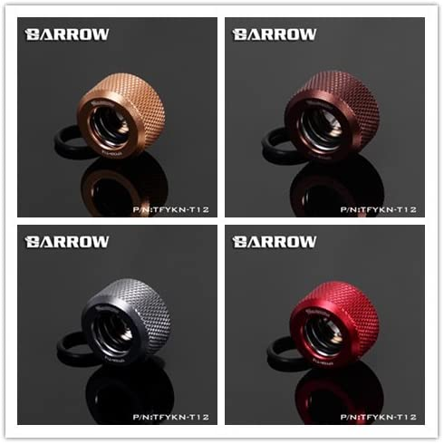 Barrow Choice Series Compression Fitting 3//8 ID 5//8 OD 12 Color Selections Green