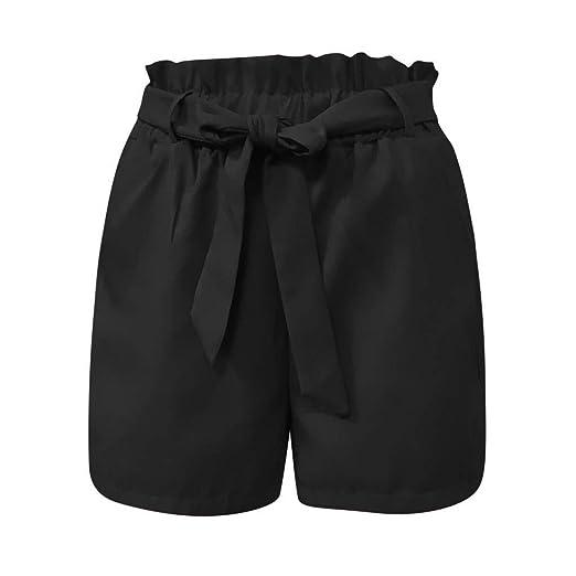 Amazon.com: Pantalones cortos de mujer de tamaño grande ...