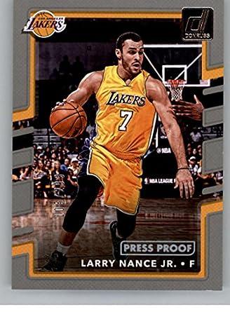 252be0c5c Amazon.com  2017-18 Donruss Press Proof Silver  70 Larry Nance Jr ...