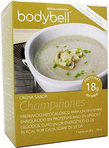 Bodybell Crema Champiñones 7 Sobres: Amazon.es: Salud y ...