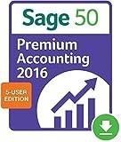Sage 50 Premium Accounting 2016 5-user [Download]