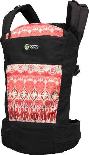 (New Boba 3G Soho Print on Black Infant & Baby Child Carrier )