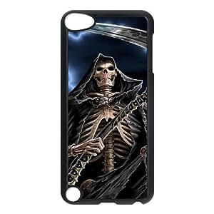 C-EUR Customized Print Grim Reaper Pattern Hard Case for iPod Touch 5 Kimberly Kurzendoerfer