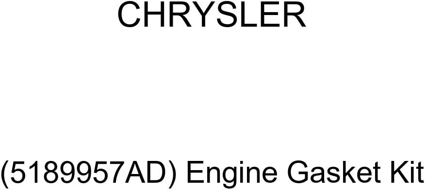 Engine Gasket Kit Genuine Chrysler 5189957AD
