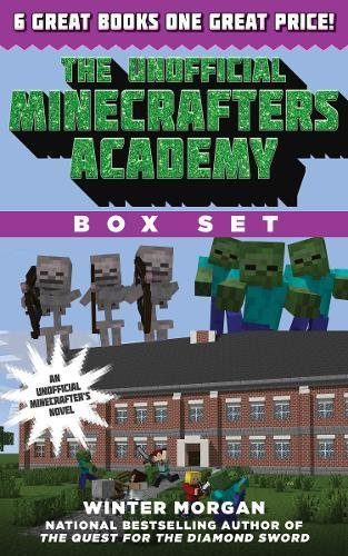 The Unofficial Minecrafters Academy Series Box Set: 6 Thrilling Stories for Minecrafters by Sky Pony Press (Image #1)